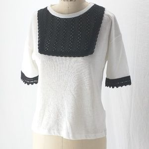 Top Shop cute knit shirt sz 4